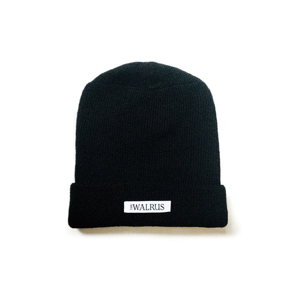 The Walrus Black Merino Toque