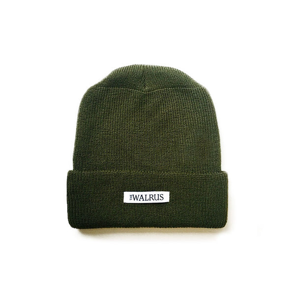 The Walrus Green Merino Toque