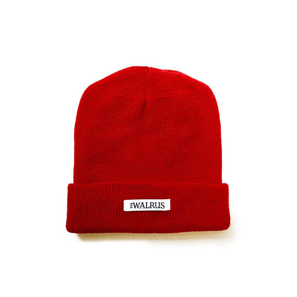 The Walrus Red Merino Toque