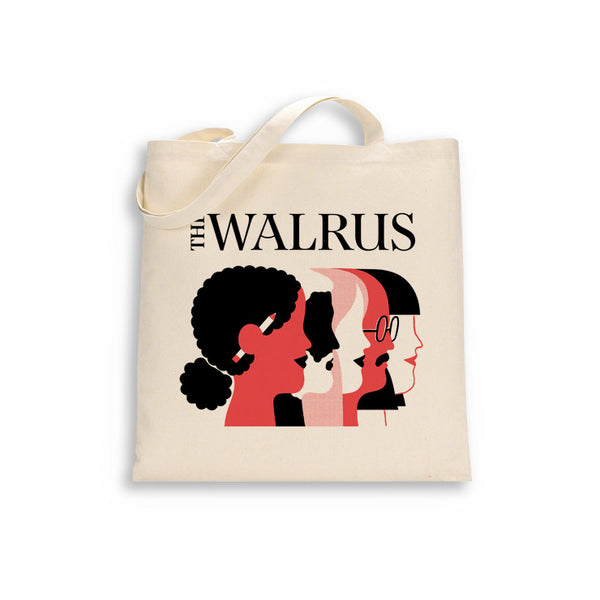Support The Walrus - Donate $30 or more and get a FREE tote bag