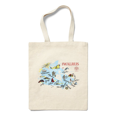 Walrus 2017 National Tour Collector Tote Bag