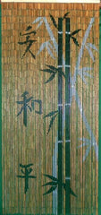 'Chinese Whispers' Bamboo Curtain