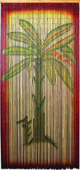 'Banana Tree' Bamboo Curtain