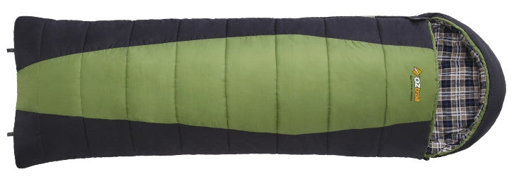 Oztrail Alpine View Jumbo Hooded -12 Sleeping Bag