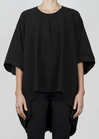 ample sweatshirt - black