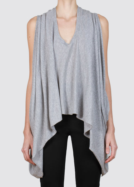 arch tank - grey heather