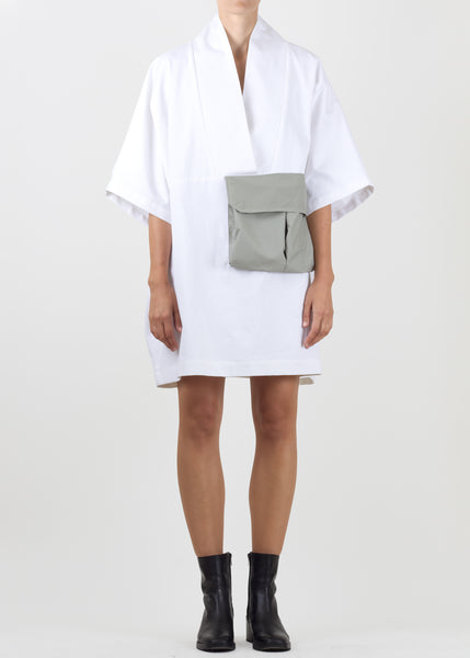 arrow tunic - white