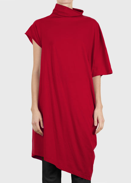 aspect tunic - red