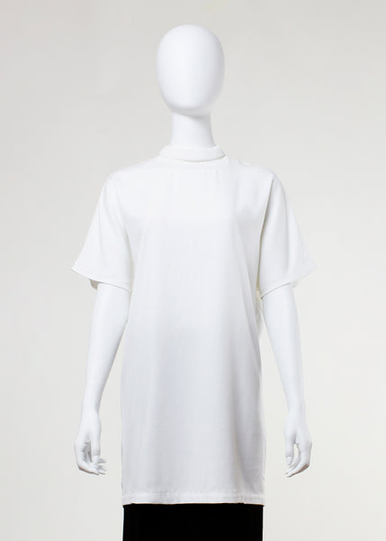 beech tunic - raw white