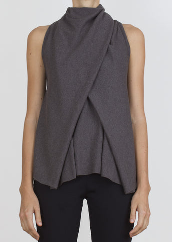 bind tank - dark heather