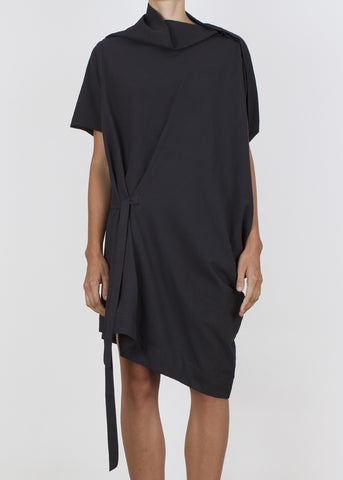 crimp tunic - graphite