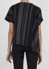 wale top - midnight stripe