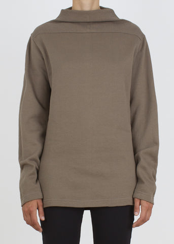 diversion sweatshirt - dark sand