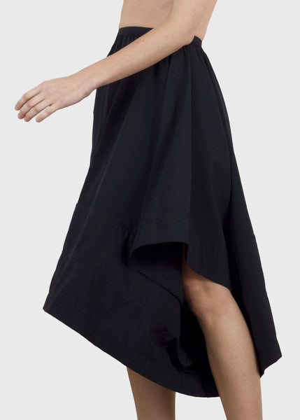 divide skirt - black