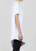 drop tunic - white
