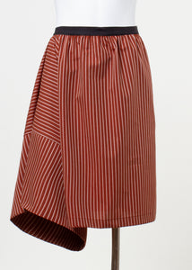 duce shorts - rust stripe