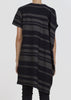 ebb tunic - midnight stripe