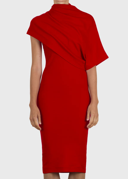 fix dress - red