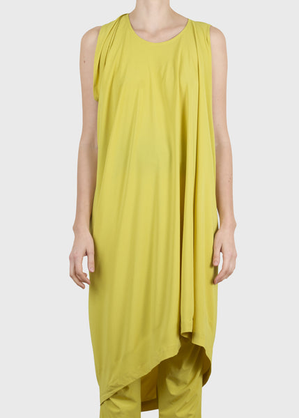 flick dress - yellow