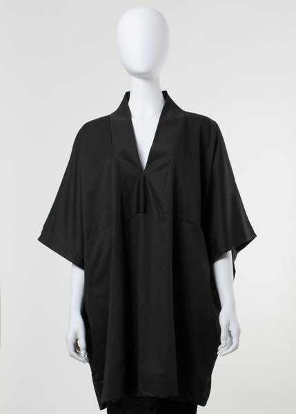 flight tunic - black