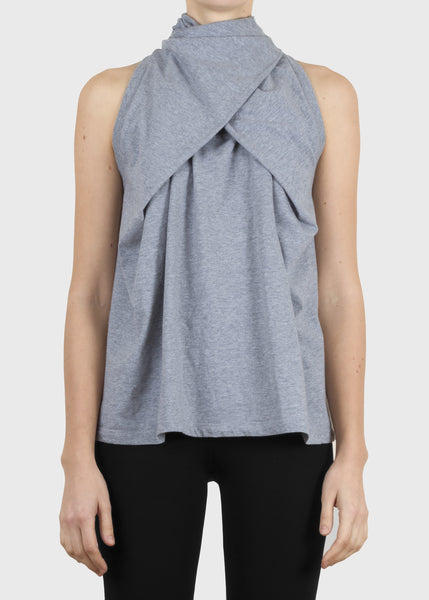 fold tank - heather grey