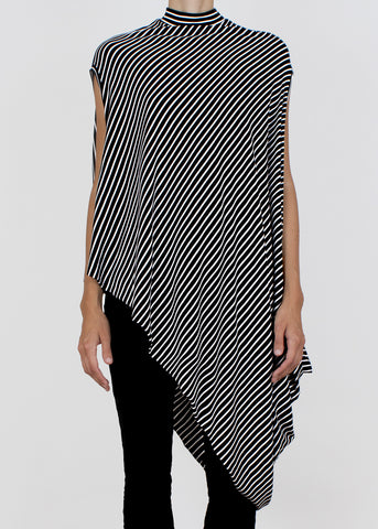 gem tank - b&w stripe