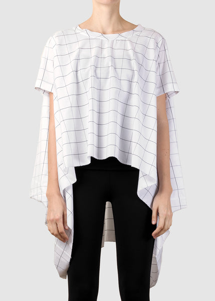 grid top - white