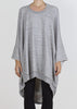 giant square hoodie - light grey heather