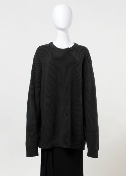 heap sweater - soft black