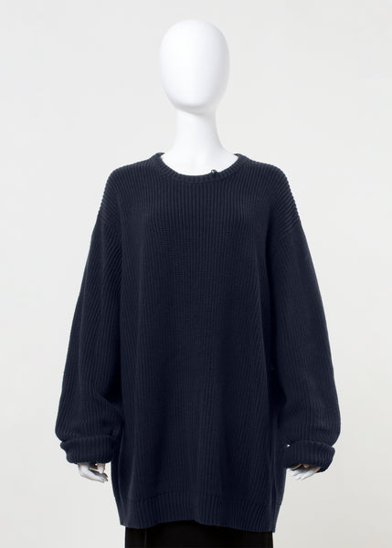 heap sweater - navy