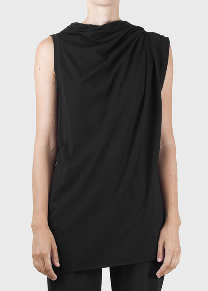 hitch tank - black