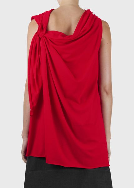 hitch tank - red