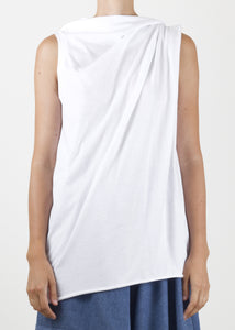 hitch tank - white