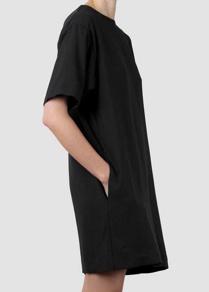 issue tunic - black