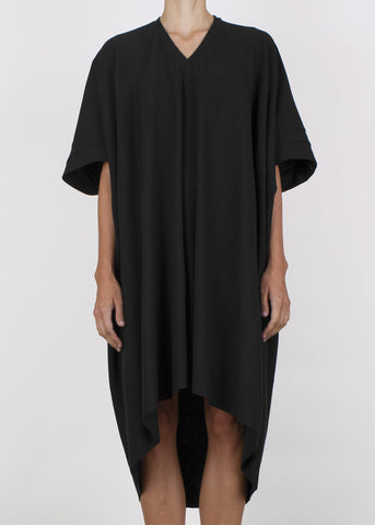 crate dress - black