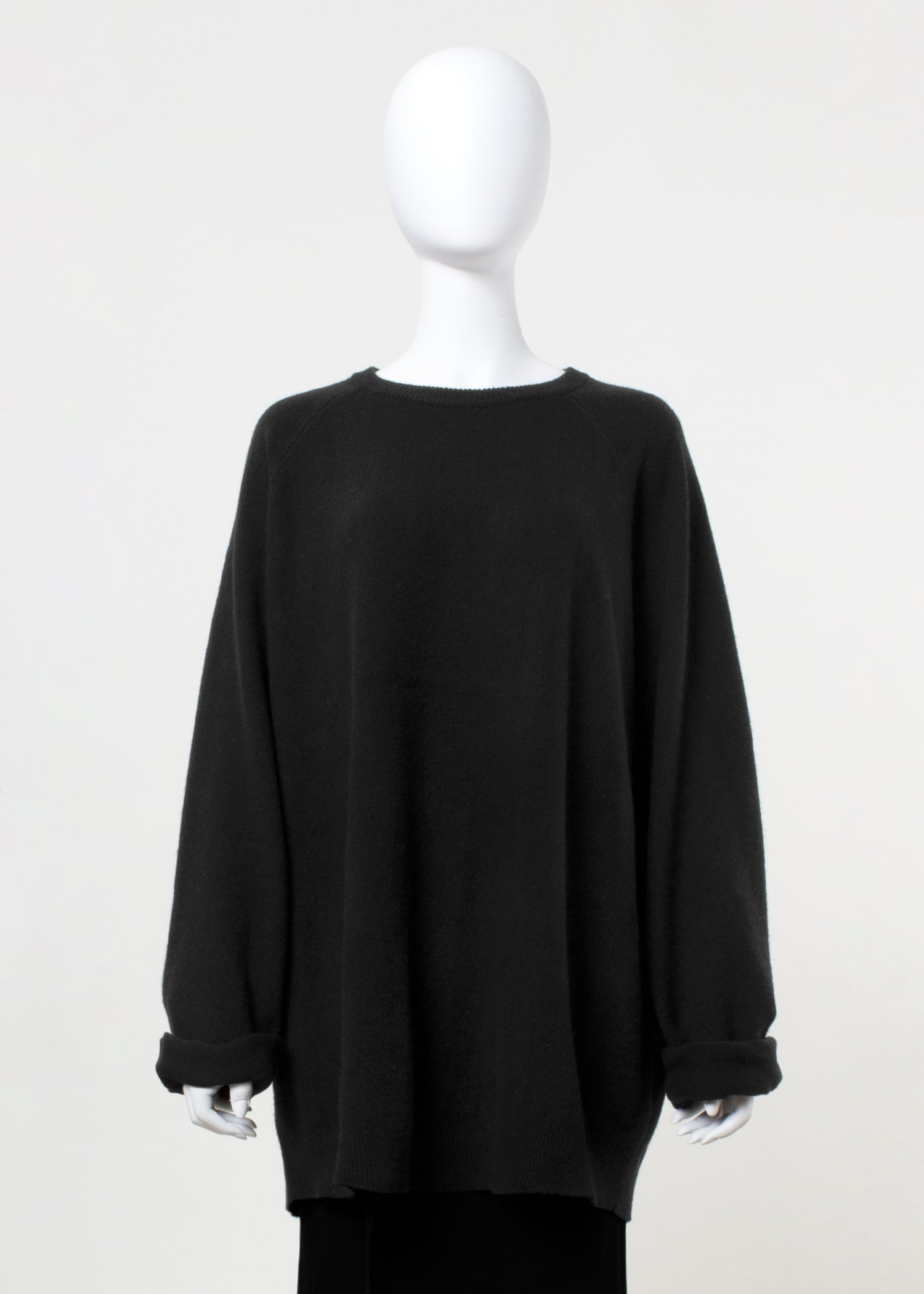 latch sweater - black