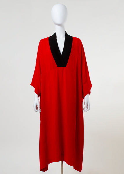 lito dress - red