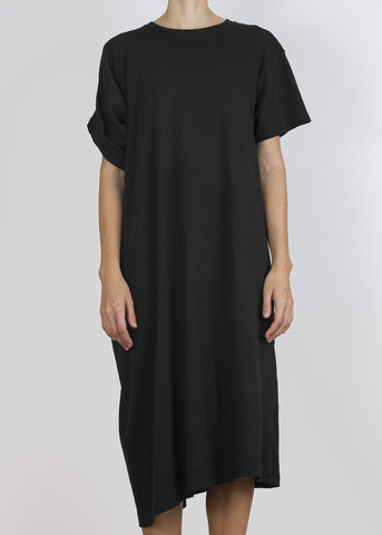 erudite dress - black