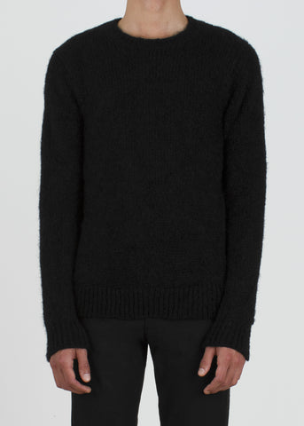 husk sweater - black