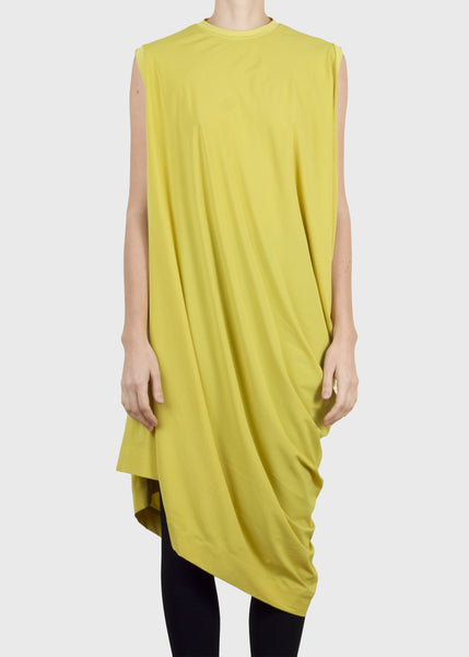 rhombus dress - yellow