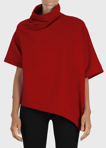 stack sweatshirt - red