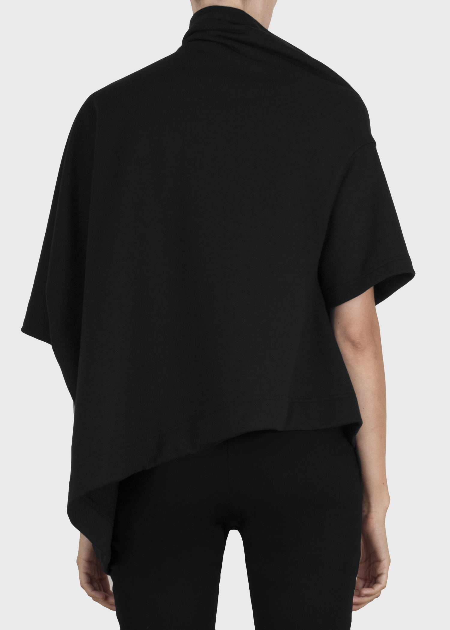stack sweatshirt - black