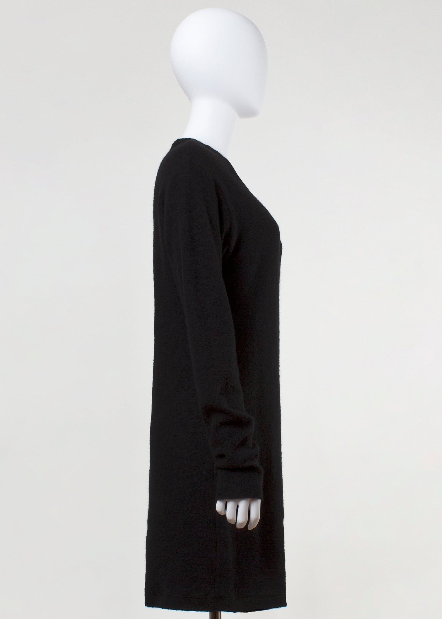 stretch pull - fuzzy black