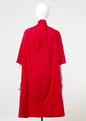 strict dress - red