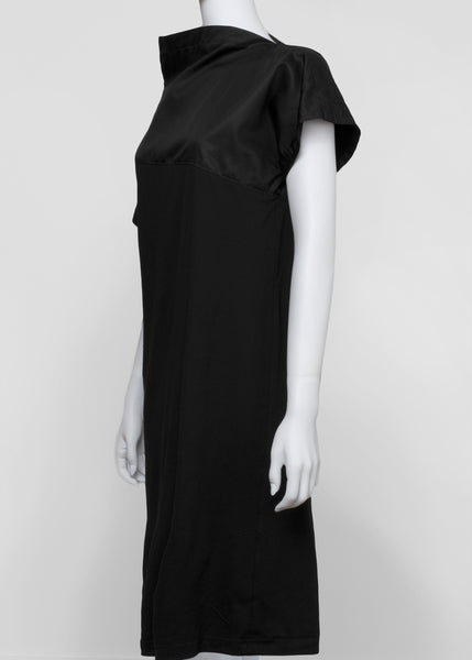 swerve tunic - black