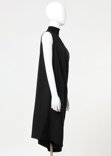 tab dress - black