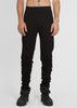 tall sweats - black