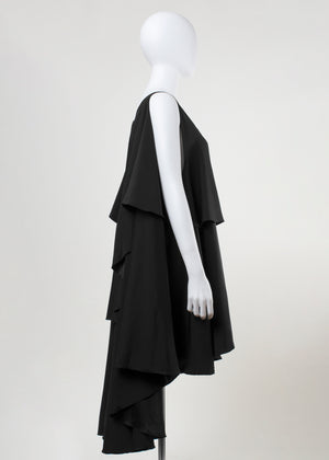 tear dress- black