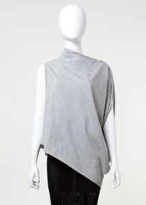 tilt tank - heather grey