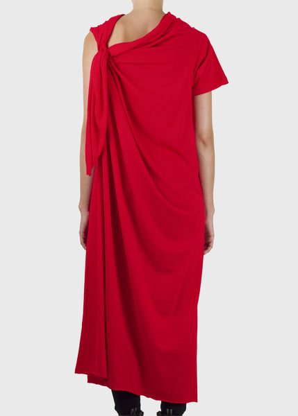 trammel dress - red